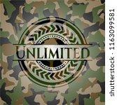 unlimited written on a... | Shutterstock .eps vector #1163099581