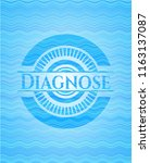 diagnose sky blue water wave... | Shutterstock .eps vector #1163137087