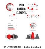 infographic elements  data... | Shutterstock .eps vector #1163161621