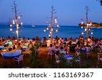 datca mugla turkey august 24... | Shutterstock . vector #1163169367