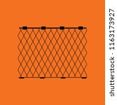 icon of fishing net . orange...   Shutterstock .eps vector #1163173927