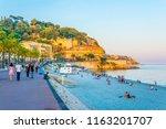 nice  france  june 11  2017 ... | Shutterstock . vector #1163201707