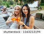 motion blur drunk effect. party ... | Shutterstock . vector #1163213194