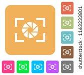 camera aperture setting flat... | Shutterstock .eps vector #1163233801