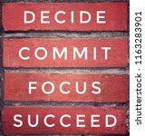 motivational and inspirational... | Shutterstock . vector #1163283901