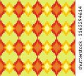 retro geometric pattern in... | Shutterstock . vector #1163294614