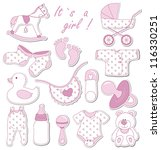 Baby Shower Design Elements....