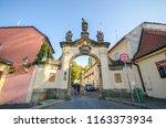 prague  czech republic   05... | Shutterstock . vector #1163373934