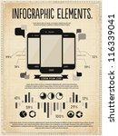 retro vintage vector set of... | Shutterstock .eps vector #116339041