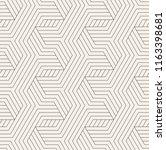 vector seamless pattern. modern ... | Shutterstock .eps vector #1163398681