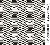 vector seamless pattern. modern ...   Shutterstock .eps vector #1163398684