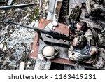 united states navy seal sniper...   Shutterstock . vector #1163419231