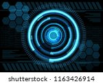 technology blue energy design... | Shutterstock .eps vector #1163426914
