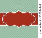holiday background frame | Shutterstock .eps vector #116344144