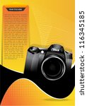 abstract vector yellow...   Shutterstock .eps vector #116345185