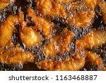 Fry Food In Hot Oil