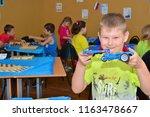 children on vacation children's ... | Shutterstock . vector #1163478667