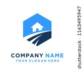 faster the future logo template ... | Shutterstock .eps vector #1163495947