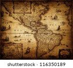 Map Of America 1632.
