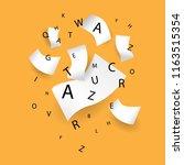 international literacy day... | Shutterstock .eps vector #1163515354