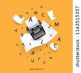 international literacy day... | Shutterstock .eps vector #1163515357