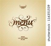 Restaurant Menu Card Design...