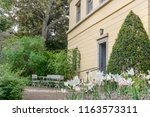 entrance of the house of the...   Shutterstock . vector #1163573311