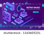 vector isometric template of...   Shutterstock .eps vector #1163605231
