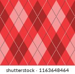 Seamless Red Argyle Classic...