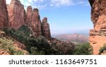 cathedral rock in sedona  az | Shutterstock . vector #1163649751