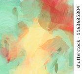abstract art background.... | Shutterstock . vector #1163685304