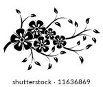 decorative floral element for... | Shutterstock .eps vector #11636869
