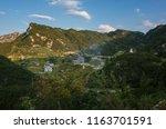 summer morning at komna plateau ... | Shutterstock . vector #1163701591