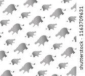 silhouette hippopotamus safari...