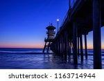 Perfect Sunset At Huntington...