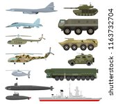 Military Technics Vector Army...