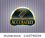shiny emblem with keyboard... | Shutterstock .eps vector #1163740234