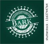 bark on chalkboard | Shutterstock .eps vector #1163744764