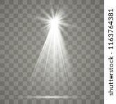 vector on transparent... | Shutterstock .eps vector #1163764381