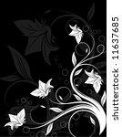 floral design elements | Shutterstock .eps vector #11637685