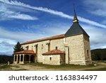 hermitage of the virgin of los...   Shutterstock . vector #1163834497