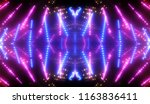 abstract pink creative lights... | Shutterstock . vector #1163836411