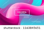 abstract modern background with ... | Shutterstock .eps vector #1163845651