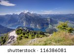 alps mountains and konigssee...   Shutterstock . vector #116386081