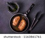 food  grilled duck breast in...   Shutterstock . vector #1163861761