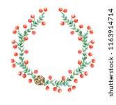 christmas illustration  forest... | Shutterstock . vector #1163914714
