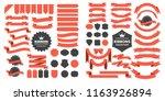 vintage retro vector logo for... | Shutterstock .eps vector #1163926894