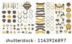 vintage retro vector logo for... | Shutterstock .eps vector #1163926897