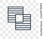 overlap vector icon isolated on ...   Shutterstock .eps vector #1163973094