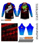 long sleeve motocross jerseys t ...   Shutterstock .eps vector #1163978551